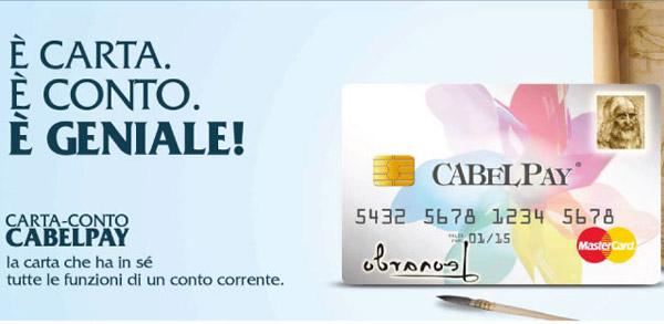 Carta Conto Cabel Pay: Come Funziona e Caratteristiche