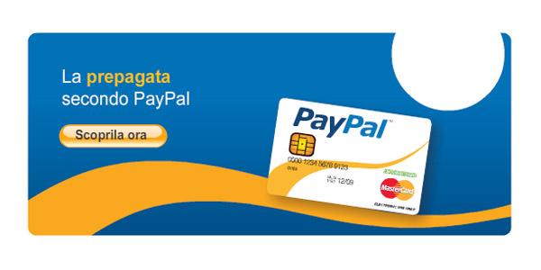 Carta di Credito Prepagata Paypal – Carta Ricaricabile Con Iban