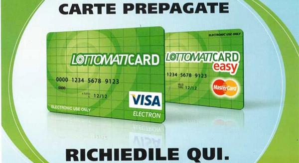 Carta Prepagata: LottomatiCard Carta Conto Con IBan Per Bonifici?