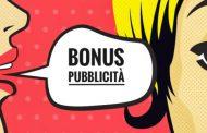 Bonus Pubblicità 2019